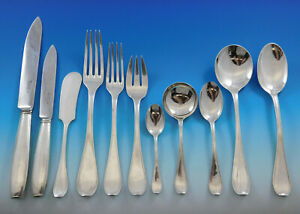 Atlas by Cartier Sterling Silver Flatware Set 12 Service 190 pieces Dinner