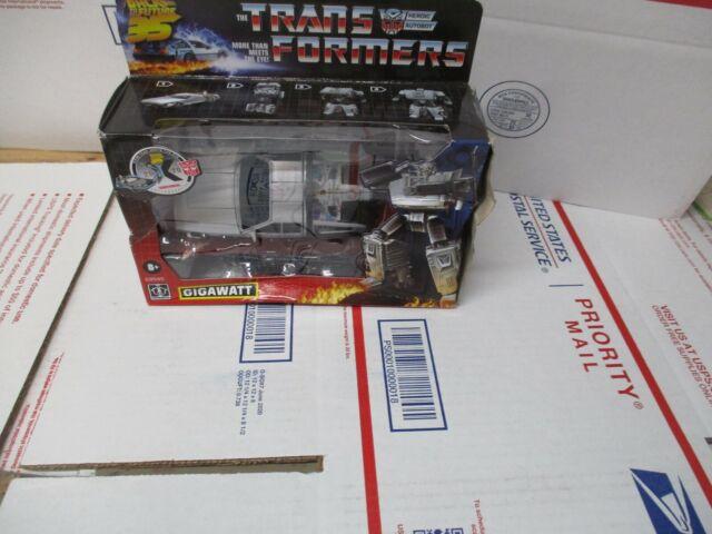 HASBRO TRANSFORMERS BACK TO THE FUTURE 35 GIGAWATT E8545 BOX DAMAGE SHIPS FREE!!
