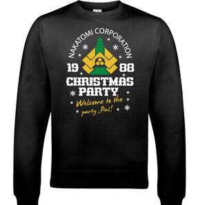 DIE-HARD-CHRISTMAS-JUMPER-Mens-Nakatomi-Party-Bruce-Willis-Movie-Sweatshirt