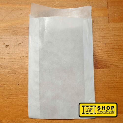 Samentütchen 45x60mm+Klappe 100/% Papier Saattüten Flachbeutel