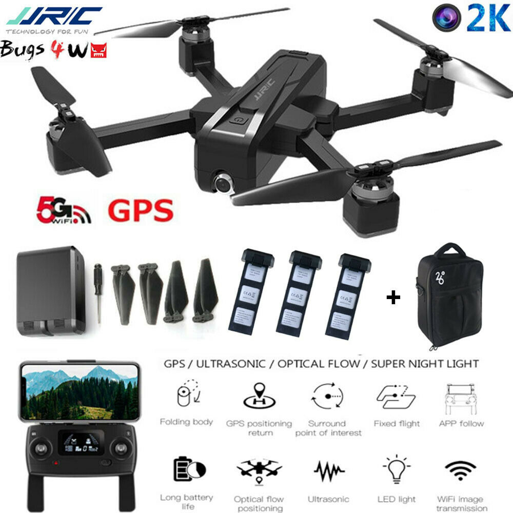 Dettagli su MJX Bugs B4W(JJRC X11) GPS Drohne 5G WIFI FPV Brushless 2K Camera RC kA RC IT