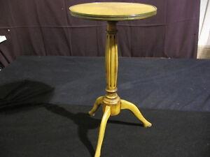 1940-039-s-Sunburst-Mahogany-Occasional-Candle-Stick-Table