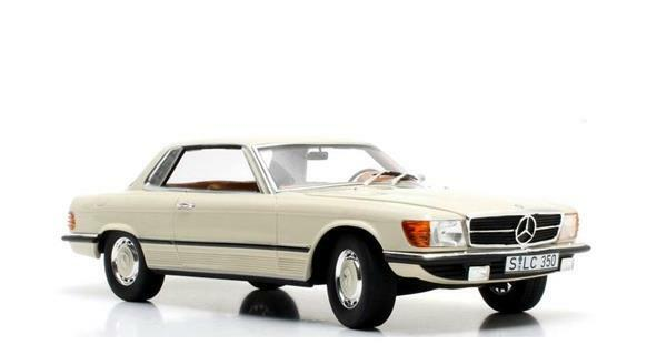 CULTSCALE Mercedes Benz 350 SLC C107 White 1 18 CML049-1