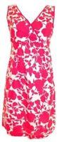 Stunning Boden Floral Print Summer Cotton Shift  Tea Evening Occasion Dress 10