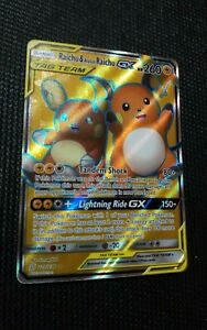 Raichu-amp-Alolan-Raichu-GX-220-236-Mint-Near-Mint-Pokemon-Card