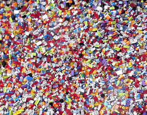 NEW-500-SMALL-DETAIL-LEGO-BULK-LOT-PIECES-HUGE-LEGOS-PARTS-Trans-Translucent