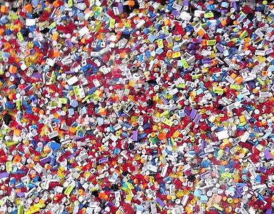 ☀NEW 500+ SMALL DETAIL LEGO BULK LOT PIECES HUGE LEGOS PARTS Trans Translucent