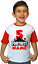 Personalized Kids Clothes Unisex Fortnite Game Name Birthday Shirts Toddler Red