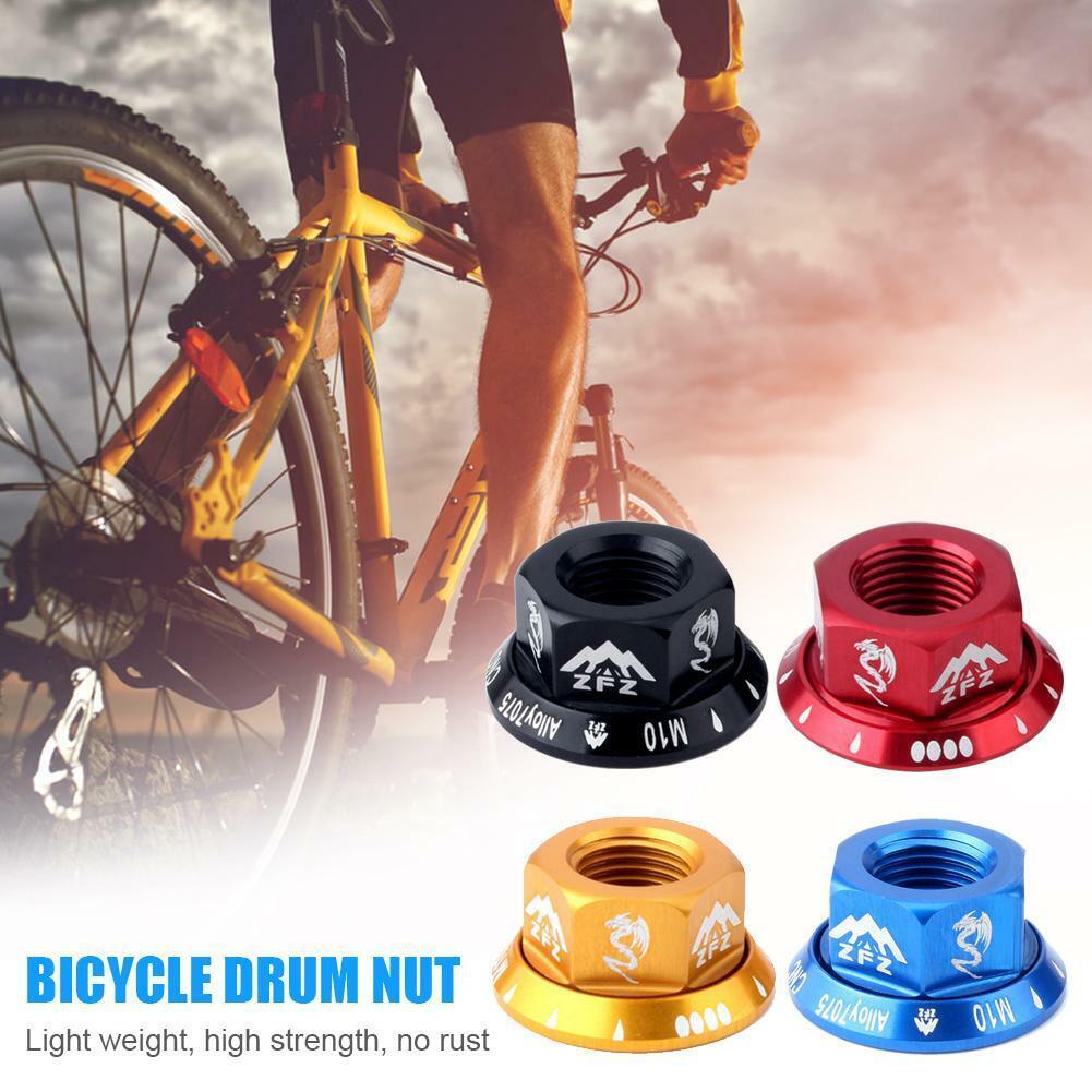 4x Road Mountain Folding Bike Wheel Hub Flange Screw Nuts MTB Bicycle Bolts