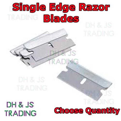 Scraper Blades Single Edge Razor Blade Window Wallpaper Scraper Safety Blade