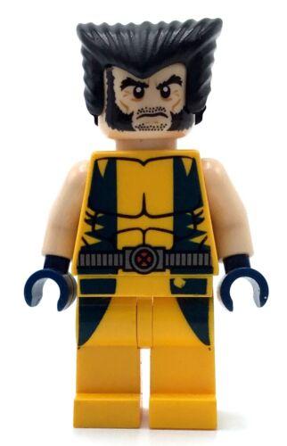 Lego Super Heroes Minifigure Marvel WOLVERINE 6866 X-Men Authentic Mint