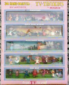 Louis-Marx-TV-Tinykins-Gift-Set-34-Hand-Painted-Huckleberry-Yogi-Top-Cat-Tinykin