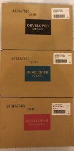 Details about XEROX GENUINE DEVELOPER SET CMB WC WorkCentre 7425 7428 7435  7525 7530 7535 7545