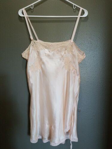 Vintage 1940's 100% Silk Women's Teddy Tap Pants S