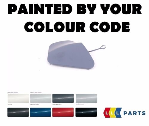 BMW NEW GENUINE F16 FRONT BUMPER TOW HOOK EYE COVER PAINTED BY YOUR COLOUR CODE