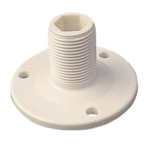 Sea Dog 329500-1 Fixed Boat Antenna Base White Nylon