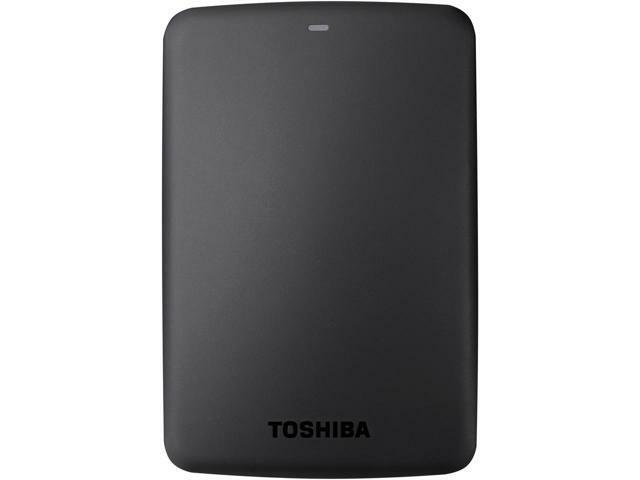 TOSHIBA 3TB Canvio Basics Portable Hard Drive USB 3.0 Model HDTB330XK3CA Black