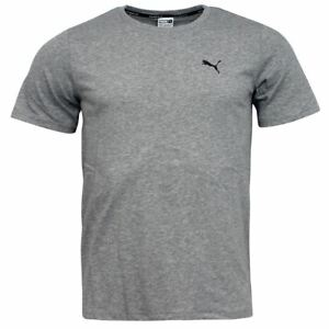 Puma-Evo-Core-dryCELL-Grey-Cotton-Polyester-Mens-Crew-T-Shirt-572445-04-D
