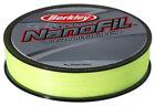 Berkley Nanofil 150yd 14LB  Hi-Vis Uni-Filament Line Chartreuse CNF15014-HV