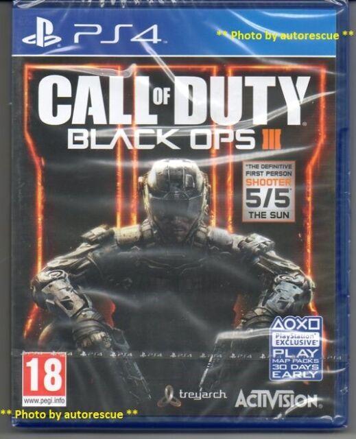 """Call of Duty Black Ops III (3) """"Neu & Versiegelt"""" * ps4 (vier) *"""