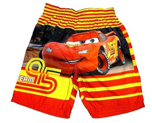 Boys Baby Toddler Swim Trunks Cars McQueen Mater NWT