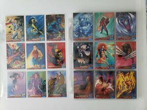 1994-X-Men-Fleer-Ultra-Set-Portrait-subset-159-cards-in-pages