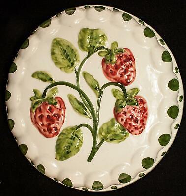 Vintage Strawberry Kitchen Jello Mold Ceramic Wall Decor Ebay