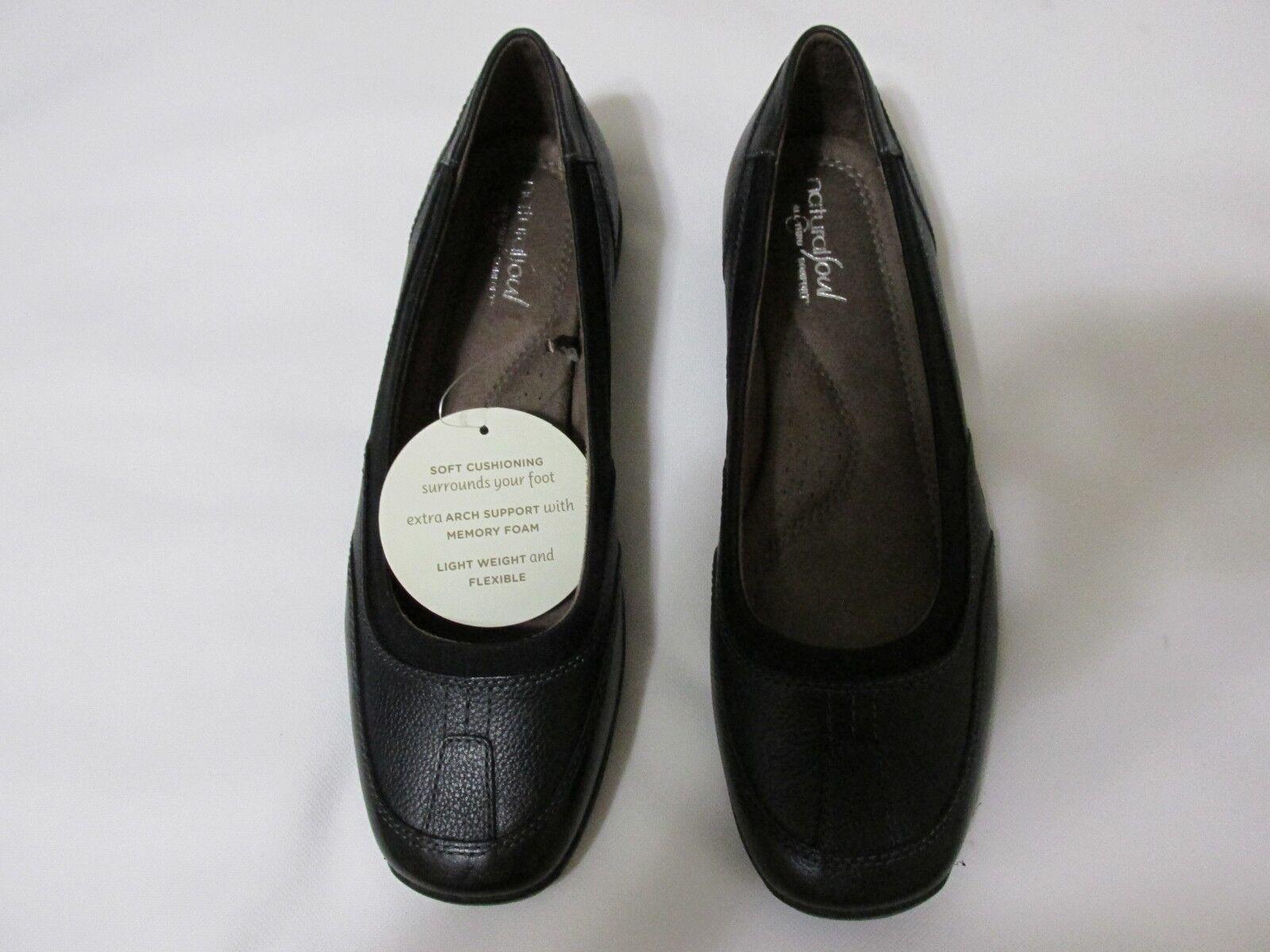 Natural Soul Lestal Black D6066M1001 Women'S shoes  Size 8.5 Wide