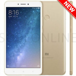 """Xiaomi Mi Max 2 64GB Gold (FACTORY UNLOCKED) 6.44"""" 4GB Ram 12MP Dual Sim"""