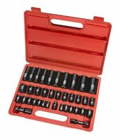 Tekton 4888 3/8-inch And 1/2-inch Drive Impact Socket Set, 3/8-inch -1-1/4-inch
