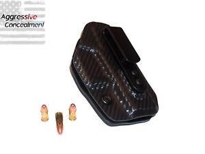 Aggressive Concealment IWB Kydex Holster for Diamondback DB9 Carbon Fiber RH