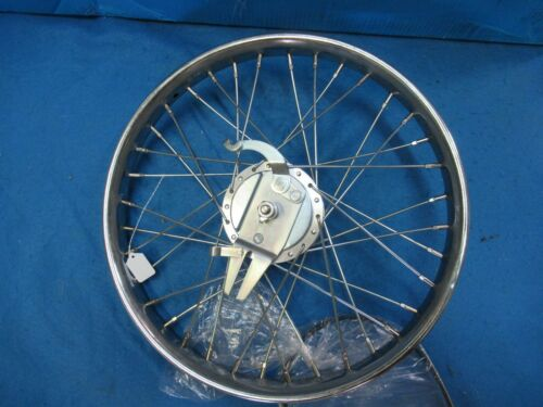 """New 1 Only 20/"""" Bicycle Worksman Cycle Front Drum Brake Heavy Duty Chrome Wheel"""