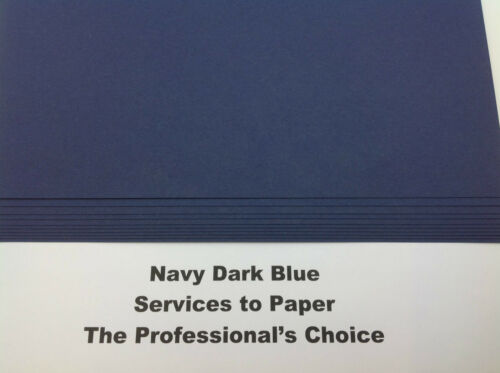 New Stock ** Navy Royal Dark Blue Extra Thick Craft Card A4 300gsm 50 Sheets