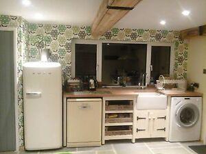 Elegant Image Is Loading Solid Pine Freestanding Kitchen Belfast Butler Sink Unit