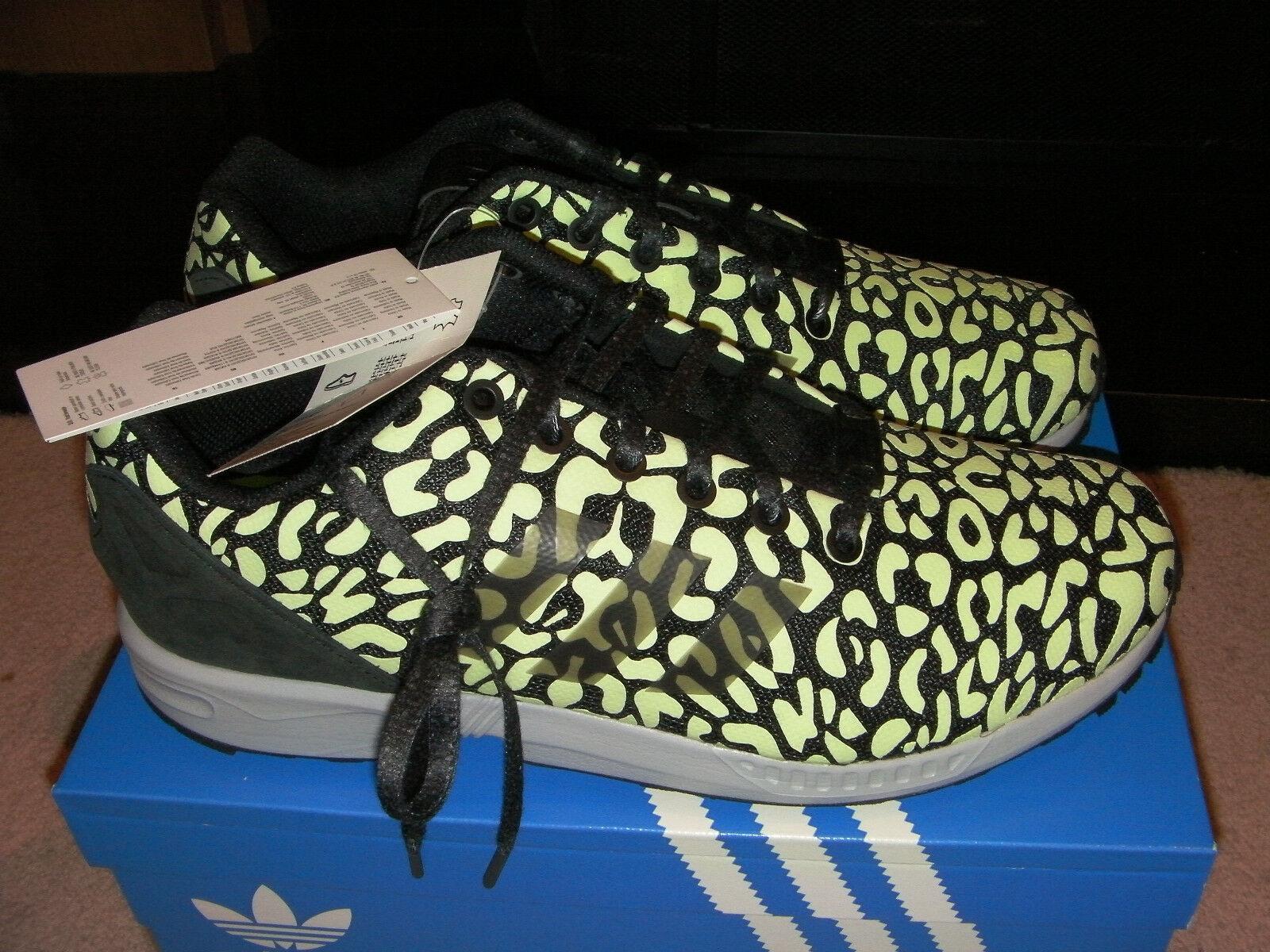 Adidas ZX Flux Hommes Chaussures 9UK (43-1/3 EU) - Entièrement NEUF dans sa boîte