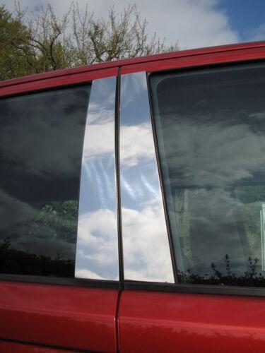 Chrome B pillar covers 4pc for Range Rover Sport HST TDV8 supercharged