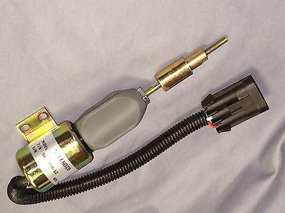 Shut Off Valve Solenoid  F1HZ-9N392A F1HZ9N392A SA-3850-12 for Ford 7.8L 12V