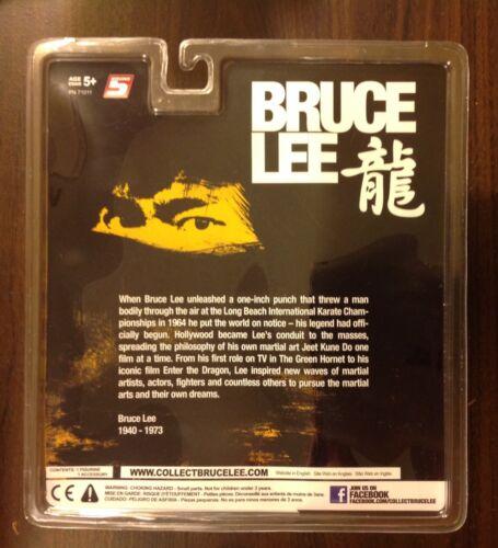 Bruce Lee Figurine avec nunchakus Round 5 jeu de la mort