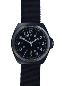 Military-Industries-1980s-Pattern-MIL-W-46374C-U-S-Military-Watch-in-Matt-Black
