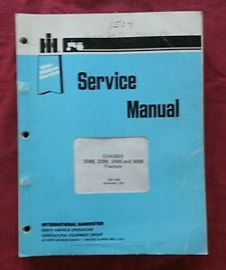 1981-85 INTERNATIONAL HARVESTER 3088 3288 3488 3688 TRACTOR SERVICE MANUAL NICE