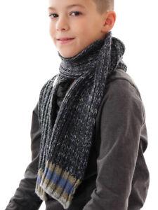 Boys' Accessories Kids' Clothing, Shoes & Accs Amiable Barts Sciarpa Scaldacollo Scialle Lavorato A Maglia Grigio Ethan Riscaldamento