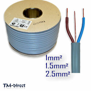 Wondrous Twin And Earth T E Electric Cable 6242Y Wire For Lights Socket Wiring Digital Resources Attrlexorcompassionincorg