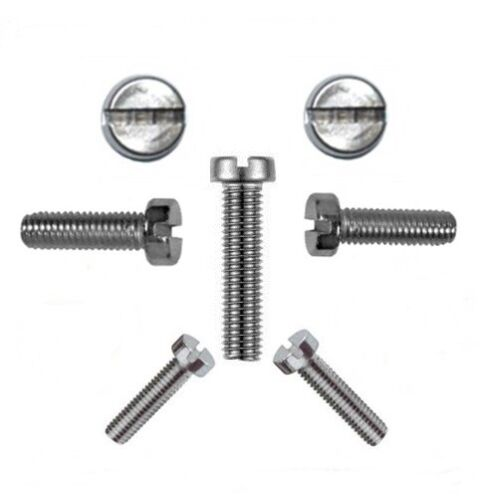 Profi Qualität * Sortiment-Zylinderschrauben DIN 84 M2 Edelstahl A2 500 Teile