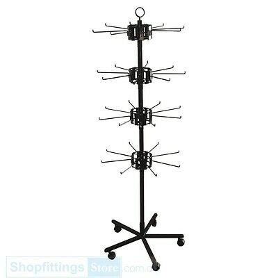 Spin-X Spinner Stand Single 8 Prong 4 layers