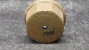 CLAYTON-MARK-amp-Co-1-1-2-034-Drive-Cap-Steel-Cast-Iron-End-Cap-Vintage-NOS