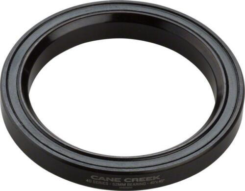 Cane Creek 40-Series Headset Bearing~ 52mm 45x45 Black Oxide Steel