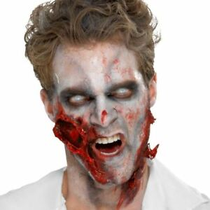 Zombie liquid latex halloween special effect make up wound - Zombie scars with glue ...