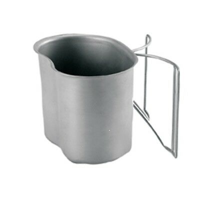 Military Canteen Cup With Popular Butterfly Handles