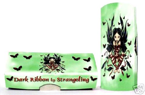 DARK RIBBON FAERY Fairy Lipstick Case Jasmine Becket-Griffith Strangeling Faerie