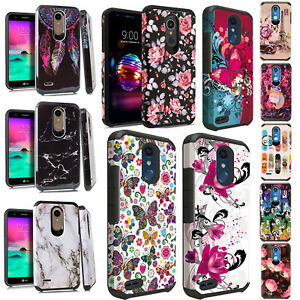 hot sales 2c1e0 8d497 For LG K30 HARD Astronoot Hybrid Rubber Silicone Case Phone Cover ...